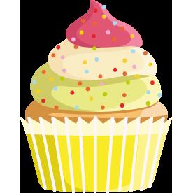 Hanf-Limetten-Basic-Cupcake